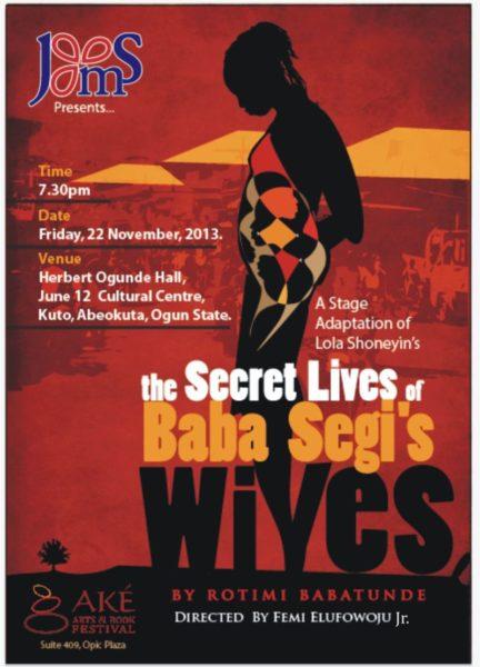 The Secret Lives of Baba Segi Stage Production - Bellanaija - November 2013