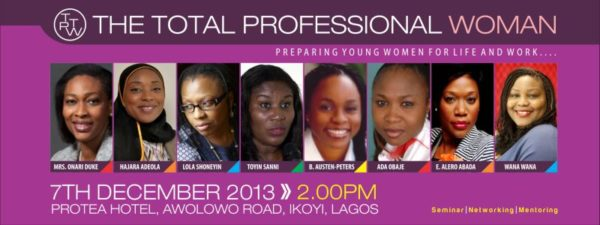 The Total Professional Woman event - BellaNaija - November 2013