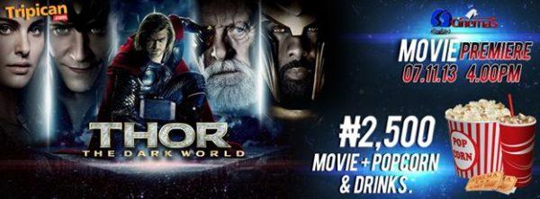 Thor The Dark World from Tripican.com - Bellanaija - November 2013