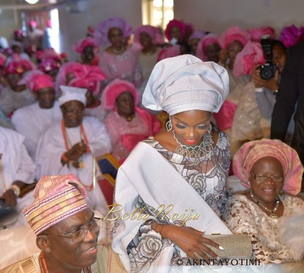 Tiwa Savage Traditional Wedding, Tee Billz, TJ Balogun, BellaNaija1-11