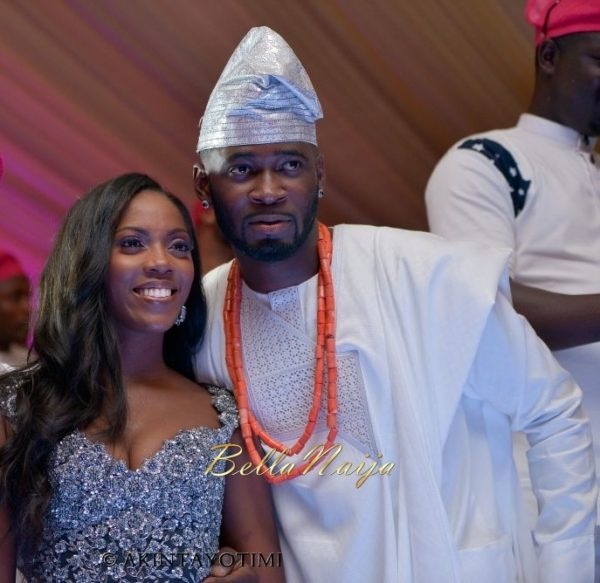 Tiwa Savage Traditional Wedding, Tee Billz, TJ Balogun, BellaNaija1-14