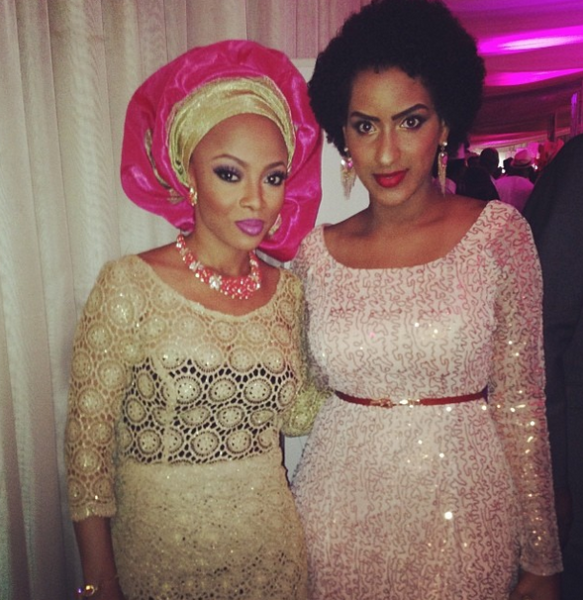 Toke & Ghanaian Actress Juliet Ibrahim