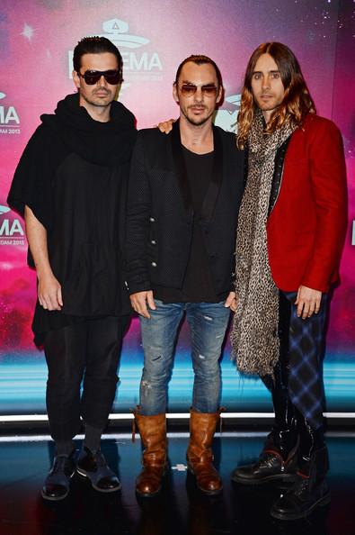 30 Seconds to Mars - Tomo Milicevic, Shannon Leto & Jared Leto
