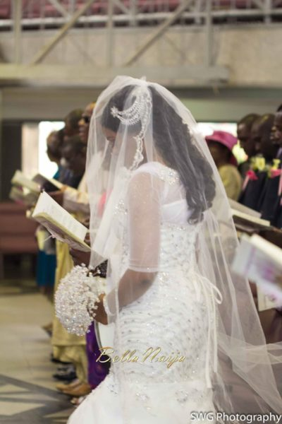 Uju Edosa Nigerian Church White Wedding BellaNaija Victoria Roberts Solutionsuju&edos white wedding_0243