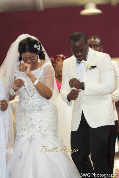 Uju Edosa Nigerian Church White Wedding BellaNaija Victoria Roberts Solutionsuju&edos white wedding_0335