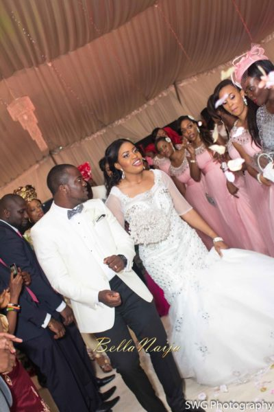 Uju Edosa Nigerian Church White Wedding BellaNaija Victoria Roberts Solutionsuju&edos white wedding_0398