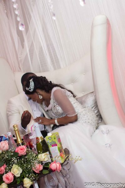Uju Edosa Nigerian Church White Wedding BellaNaija Victoria Roberts Solutionsuju&edos white wedding_0448