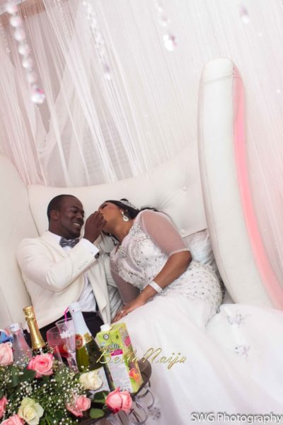 Uju Edosa Nigerian Church White Wedding BellaNaija Victoria Roberts Solutionsuju&edos white wedding_0451