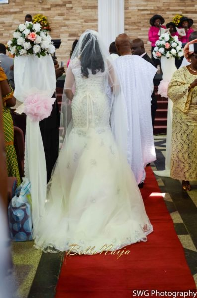 Uju Edosa Nigerian Church White Wedding BellaNaija Victoria Roberts Solutionsuju&edos white wedding_0546
