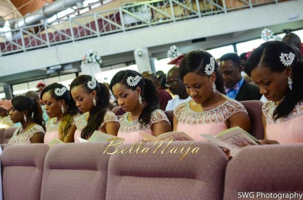 Uju Edosa Nigerian Church White Wedding BellaNaija Victoria Roberts Solutionsuju&edos white wedding_0582