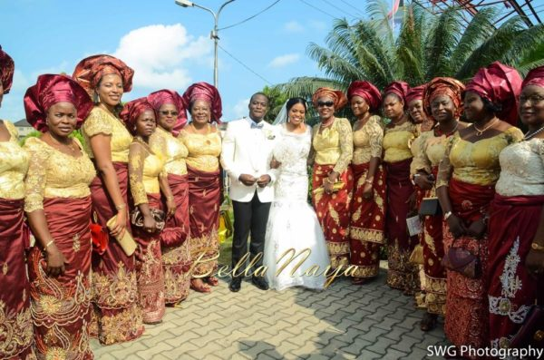 Uju Edosa Nigerian Church White Wedding BellaNaija Victoria Roberts Solutionsuju&edos white wedding_0704