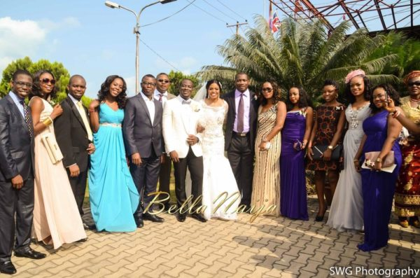 Uju Edosa Nigerian Church White Wedding BellaNaija Victoria Roberts Solutionsuju&edos white wedding_0707
