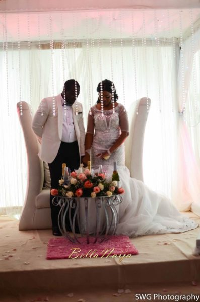 Uju Edosa Nigerian Church White Wedding BellaNaija Victoria Roberts Solutionsuju&edos white wedding_0890