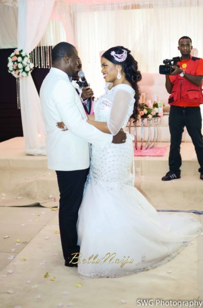 Uju Edosa Nigerian Church White Wedding BellaNaija Victoria Roberts Solutionsuju&edos white wedding_0920