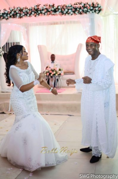 Uju Edosa Nigerian Church White Wedding BellaNaija Victoria Roberts Solutionsuju&edos white wedding_0925