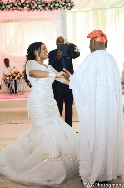 Uju Edosa Nigerian Church White Wedding BellaNaija Victoria Roberts Solutionsuju&edos white wedding_0926