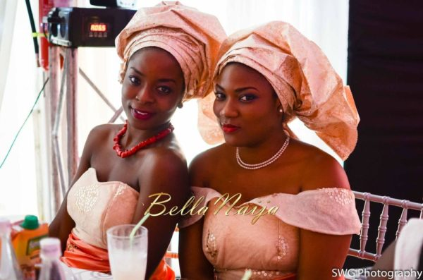Uju Edosa Nigerian Church White Wedding BellaNaija Victoria Roberts Solutionsuju&edos white wedding_0998