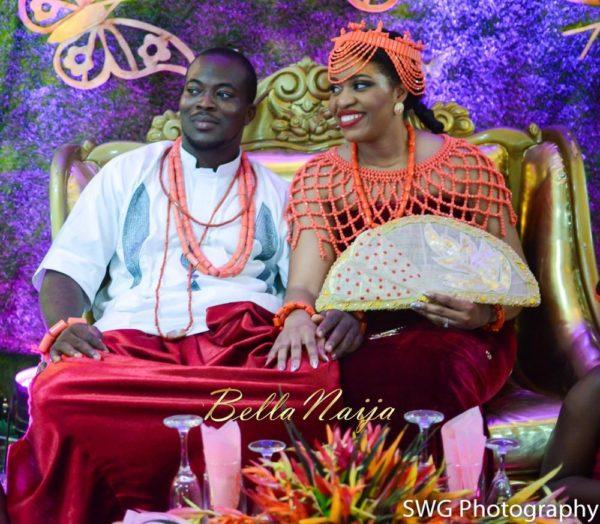 Uju Edosa Nigerian Edo Wedding BellaNaija Victoria Roberts Solutionsuju&edos trad_0360