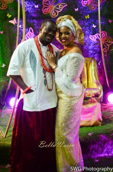 Uju Edosa Nigerian Edo Wedding BellaNaija Victoria Roberts Solutionsuju&edos trad_0370