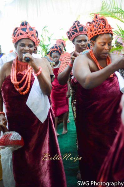 Uju Edosa Nigerian Edo Wedding BellaNaija Victoria Roberts Solutionsuju&edos trad_0802