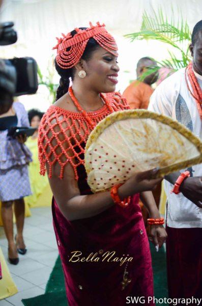 Uju Edosa Nigerian Edo Wedding BellaNaija Victoria Roberts Solutionsuju&edos trad_0803