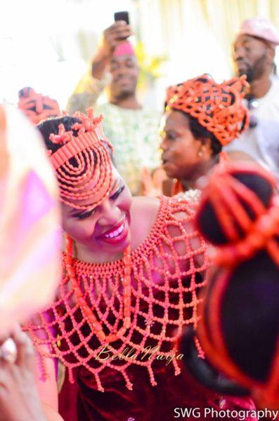 Uju Edosa Nigerian Edo Wedding BellaNaija Victoria Roberts Solutionsuju&edos trad_0812