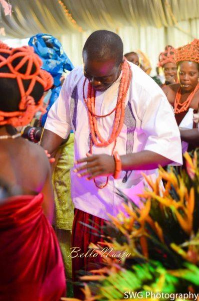 Uju Edosa Nigerian Edo Wedding BellaNaija Victoria Roberts Solutionsuju&edos trad_0819