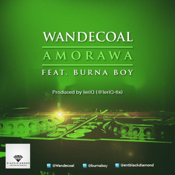 Wande Coal & Burna Boy - Amorawa - November 2013 - BellaNaija