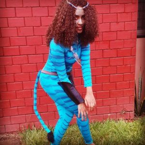 Juliet Ibrahim takes on 'Avatar'