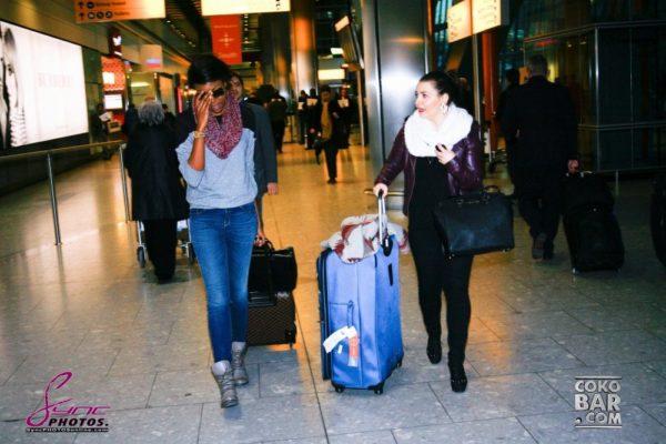 Yvonne Nelson arrives London for her Birthday - November 2013 - BellaNaija001