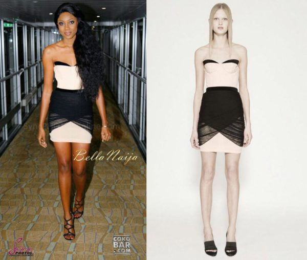 Yvonne Nelson in Alexander Wang - November 2013 - BellaNaija