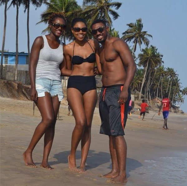 Yvonne Nelson & Eddie Watson with his Wife