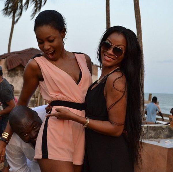 Yvonne Nelson & Damilola Adegbite