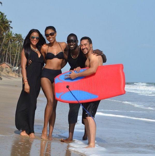 Damilola Adegbite, Yvonne Nelson, Chris Attoh & Majid Michel