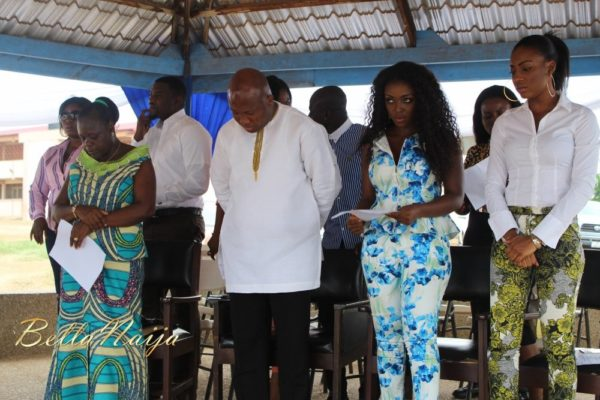 Yvonne Okoro celebrates 29th Birthday in Special School in Accra - November 2013 - BellaNaija003