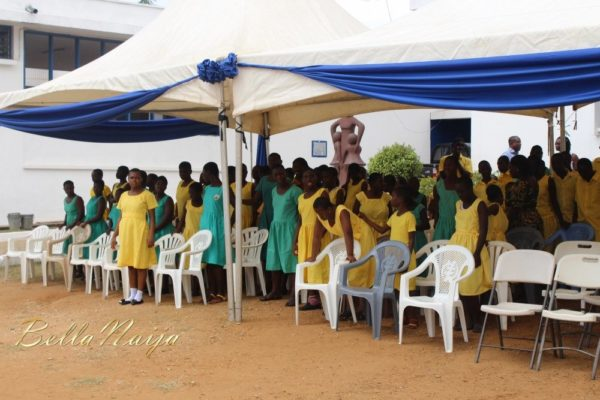 Yvonne Okoro celebrates 29th Birthday in Special School in Accra - November 2013 - BellaNaija004