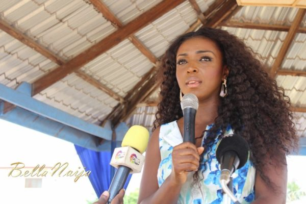 Yvonne Okoro celebrates 29th Birthday in Special School in Accra - November 2013 - BellaNaija007