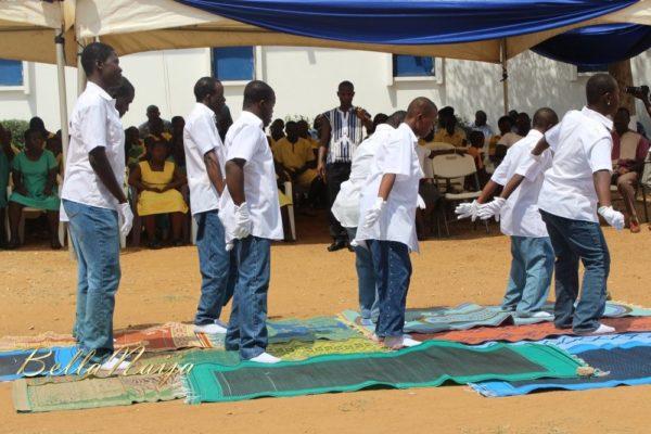 Yvonne Okoro celebrates 29th Birthday in Special School in Accra - November 2013 - BellaNaija008