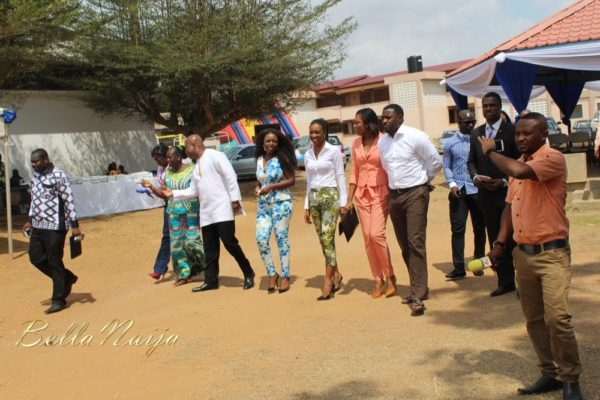 Yvonne Okoro celebrates 29th Birthday in Special School in Accra - November 2013 - BellaNaija011