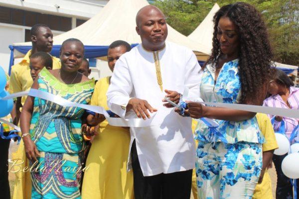 Yvonne Okoro celebrates 29th Birthday in Special School in Accra - November 2013 - BellaNaija012