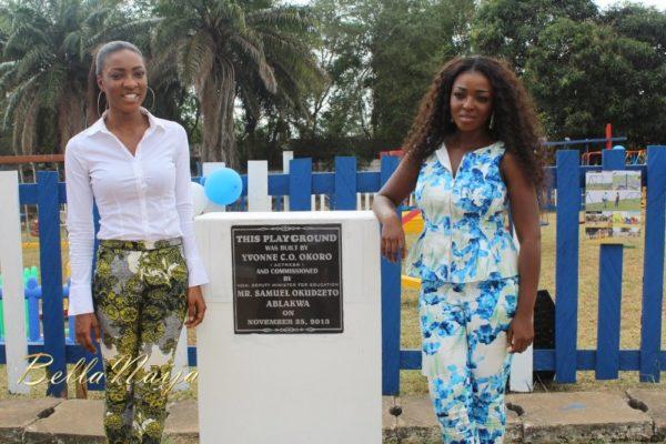 Yvonne Okoro celebrates 29th Birthday in Special School in Accra - November 2013 - BellaNaija016