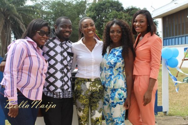 Yvonne Okoro celebrates 29th Birthday in Special School in Accra - November 2013 - BellaNaija017