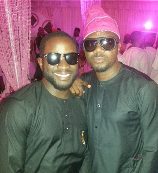dj obi, dj jimmy jatt, tiwa savage trad wedding