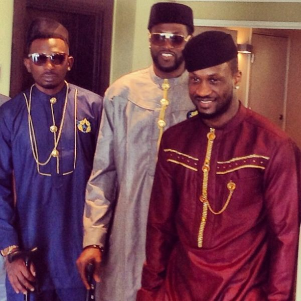 may d peter okoye psquare emmanuel adebayor
