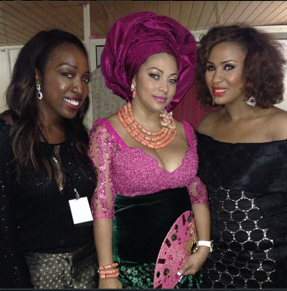 Lola with the Perfect Coordinators! Ngozi & Omorinsola.