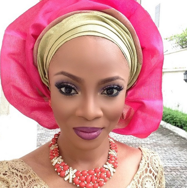 toke makinwa joyce jacob tiwa savage wedding bellanaija