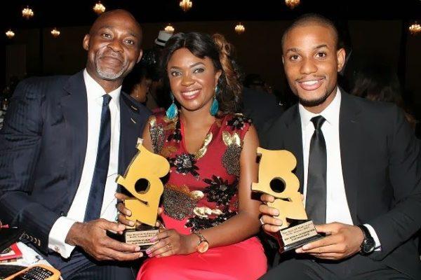 Richard Mofe Damijo, Omoni Oboli & Alex Ekubo