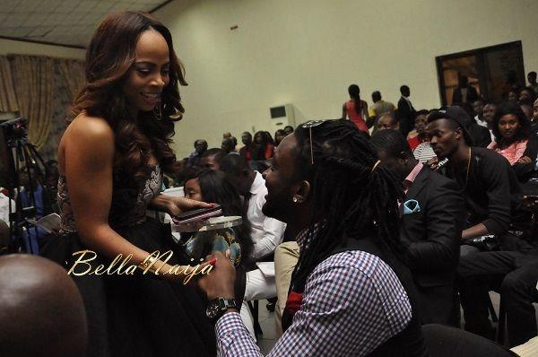 Toke Makinwa & Uti Nwachukwu