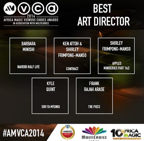 2014 AMVCA - Best Art Director - December 2013 - BellaNaija