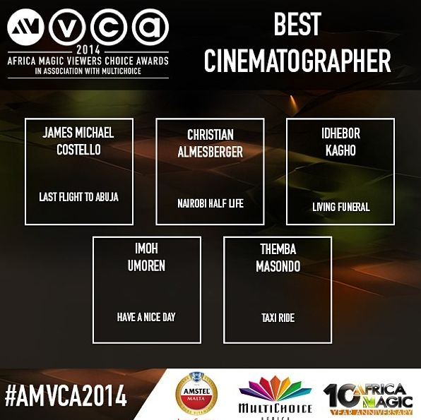 2014 AMVCA - Best Cinematography - December 2013 - BellaNaija